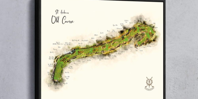 Old Course Map