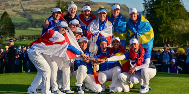 Pettersen Holes Winning Putt for Europe in Dramatic Solheim Cup