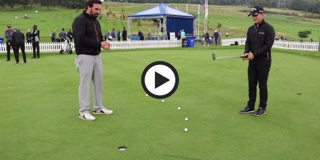 Chris Paisley Spiral putting drill