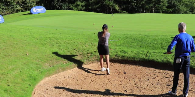 Andrew Murray Bunker Lesson - How to play a plugged lie