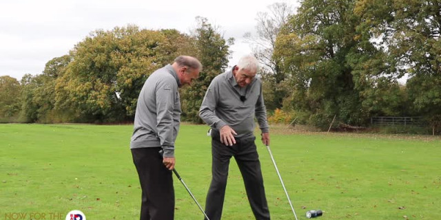 Senior Golfer Tips #11 - Foot Position To Aid Rotation