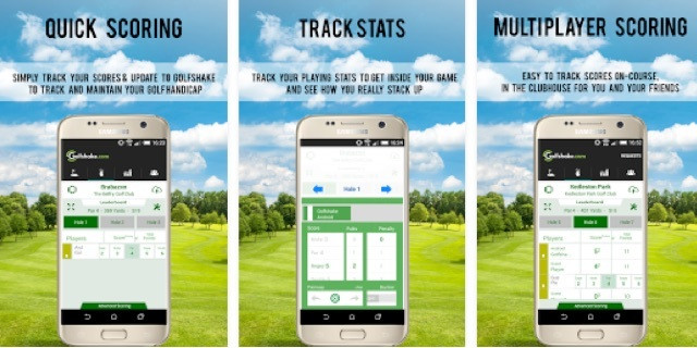 Golfshake Android App