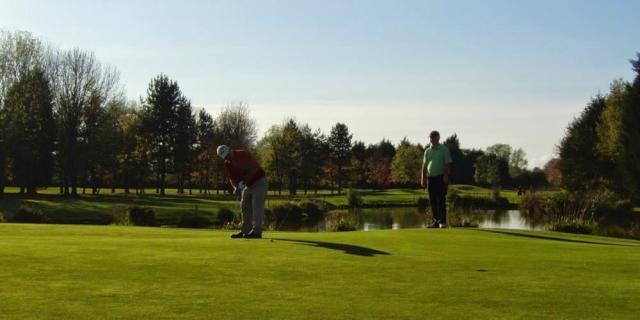Golf in autumn