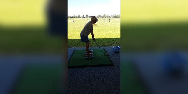 Getting into golf - balance board
