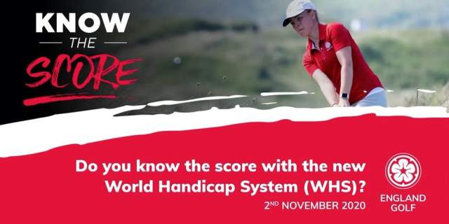 England Golf - World Golf Handicap System
