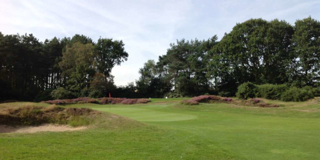 Ipsiwch Golf Club 8 th Green