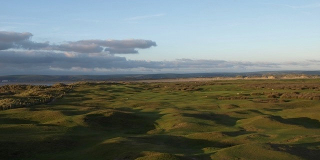 6th fairway Royal North Devon