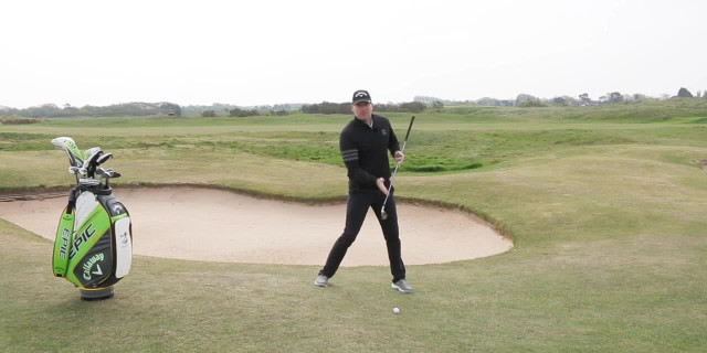 Playing From Downhill Lies - IMPROVE YOUR IRON PLAY - INTERMEDIATE