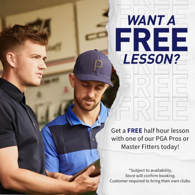 American Golf Free Lesson