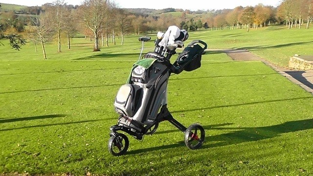 Bagboy TriSwivel II Push Trolley Review on