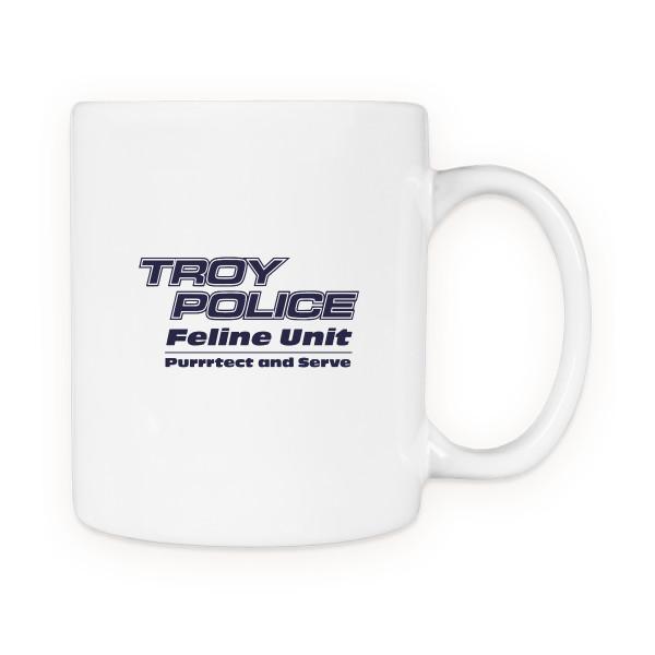 Troy Police Feline Unit Mugs | Good Ink