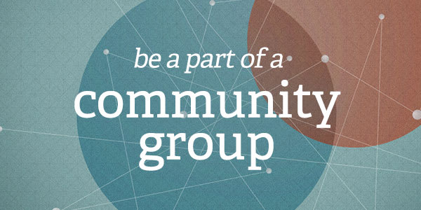 Join a Community Group