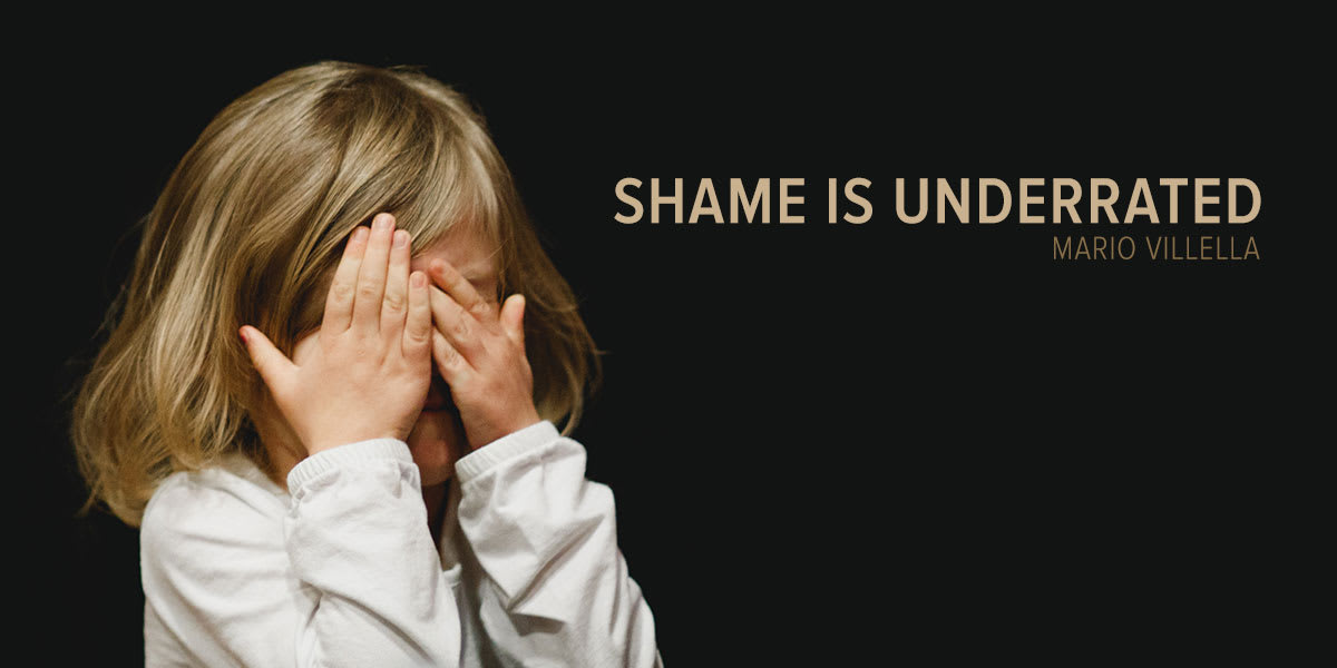 Shame Is Underrated
