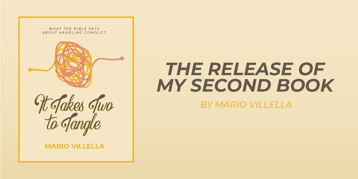 The Release of My Second Book