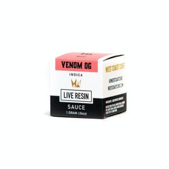 WCC Venom OG 1g Live Resin Sauce