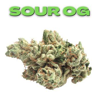 GT Sour OG 8th (THC 22.81%)
