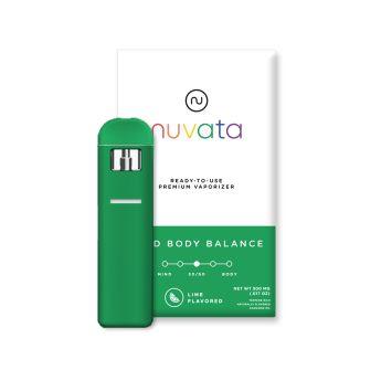 Nuvata Mind Body Balance Lime .5g (THC 73.20%)