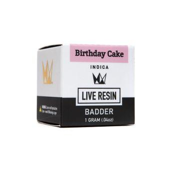 WCC Birthday Cake 1g Live Resin Badder