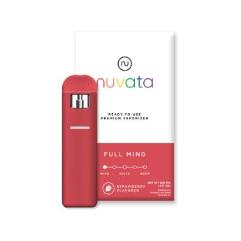 Nuvata Full Mind Strawberry .5g (THC 70.90%)