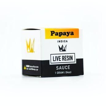 WCC Papaya 1g Live Resin Sauce