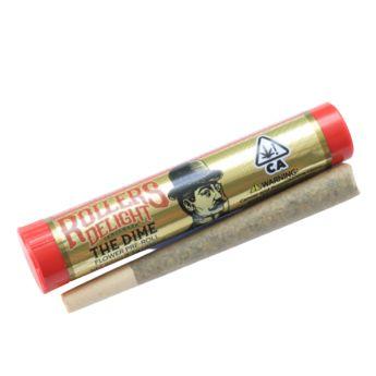 Roller's Delight Ghost Train Haze 1g Preroll (THC 25.09%)