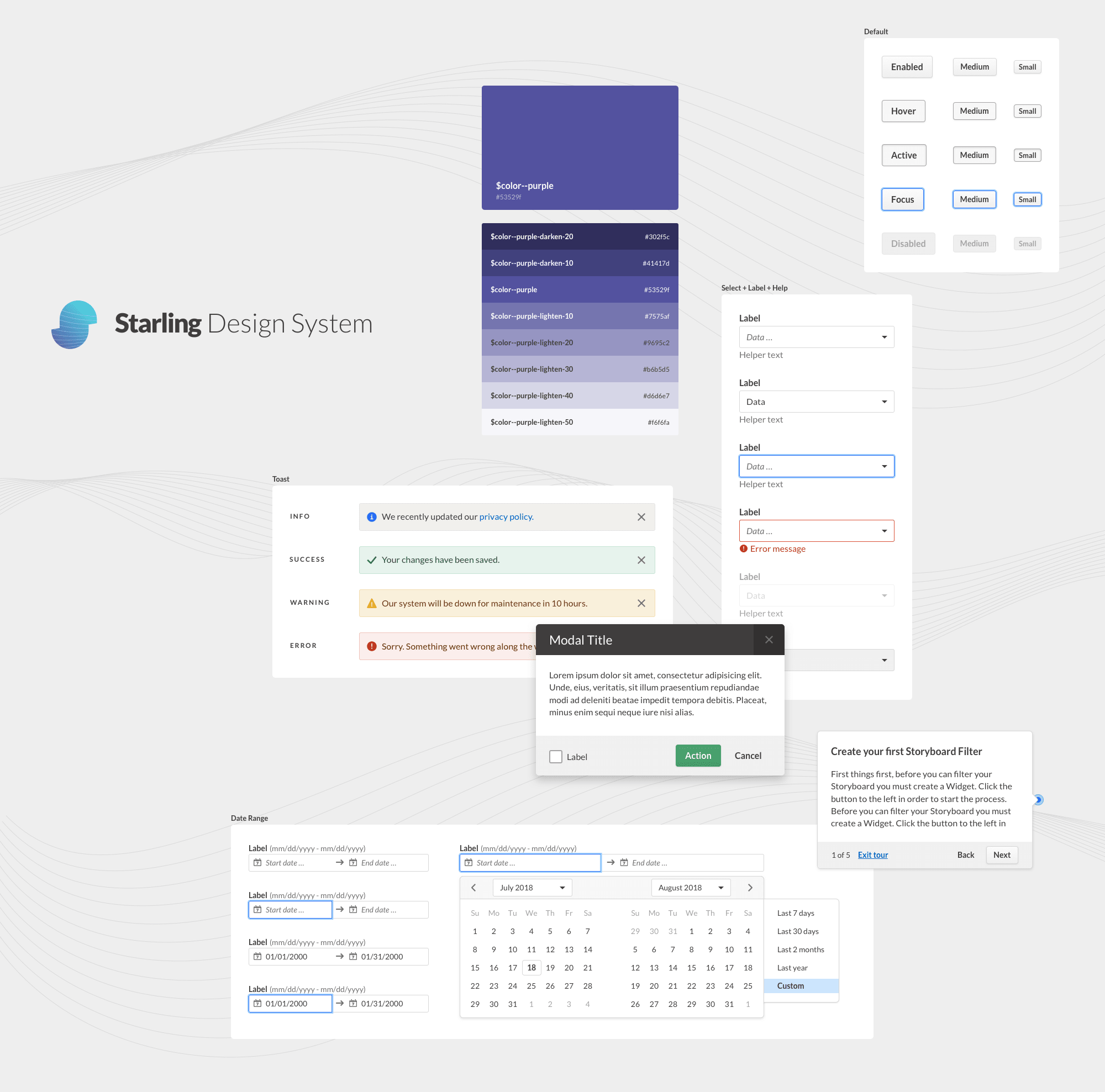 The Starling Design System