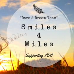 Dream Team Smiles 4 Miles Supporting Tour de Cure logo