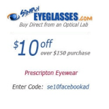 Simply Eye Glasses coupons