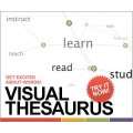 Visual Thesaurus deals alerts