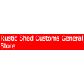 Rustic Shed Customs General Store coupons