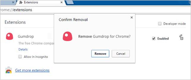 Chrome Remove