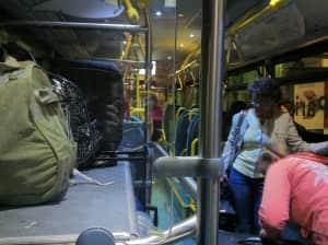 早朝バスでシャルル・ド・ゴール空港に移動してイタリアへ!