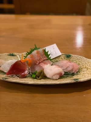 撮影の前に『瑚庵』さんで夕食  八丈島ネリ、明日菜の天ぷら、八丈島の魚。 ...