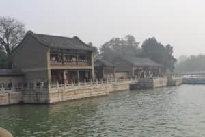 @頤和園③  これは人工湖の昆明湖。頤和園のメインの一つ‼️ ですが、PM...