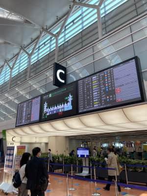 羽田空港 事故でめっちゃ混んでた 空港もかなり混んでる!