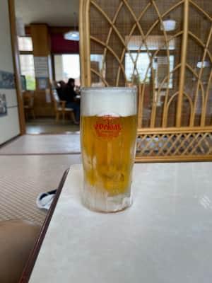 ひろちゃん食堂で宮古そば(ソーキそば)  シギラビーチでシギラアラマンダの...