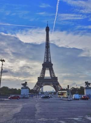 16th Sep. 2016 pic📷   La tour Eiffel ...