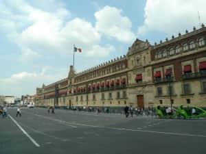 メキシコシティのソカロ