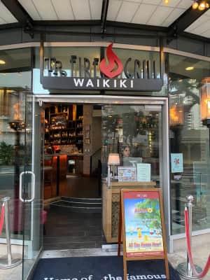 「いやすめ」大竹さんとご飯。  Nami Hanaというハワイ幻の焼酎をい...