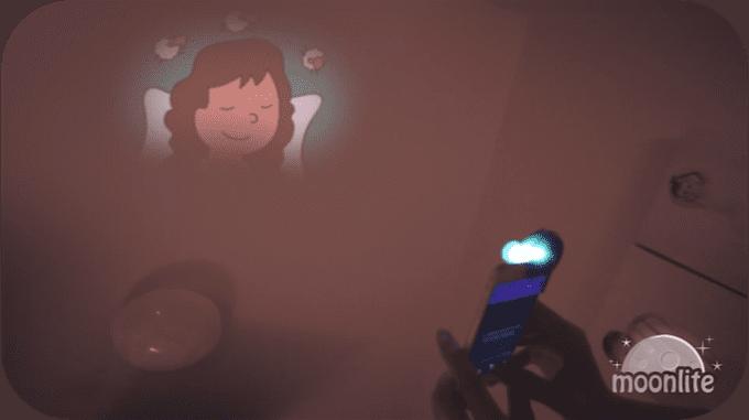 Moonlite interactive bedtime