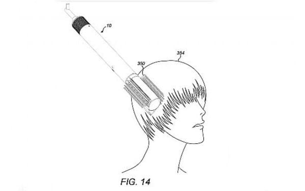 Dyson Supersonic hairbrush patent