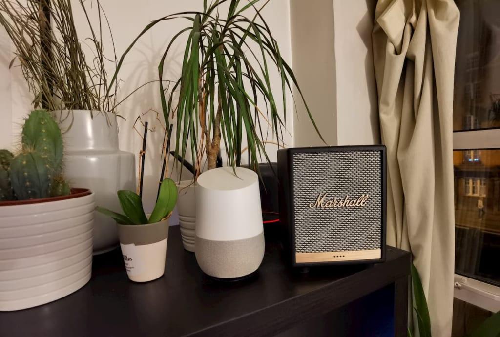 marshall uxbridge smart speaker