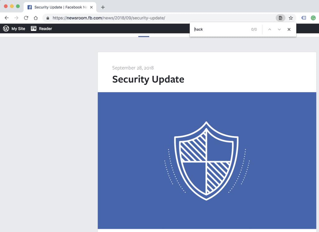 facebook hack blog post