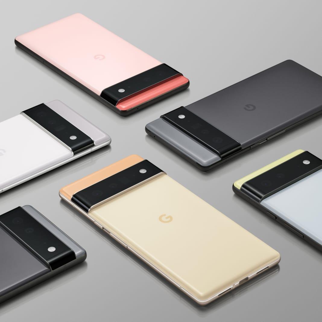 google pixel 6 range