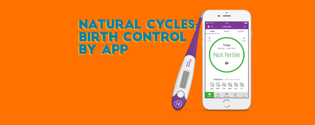 natural cycles birth control app