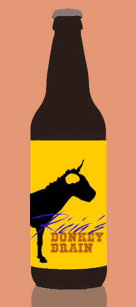 Ricias donkey brain craft beers AI generated beer name with neural networks