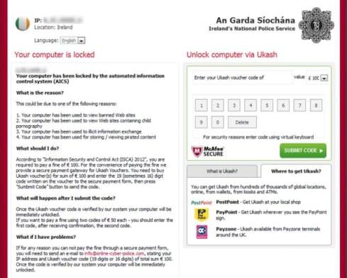 garda ransomware attack