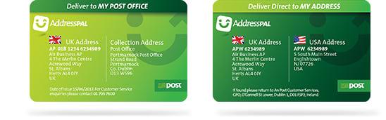 an post now offers a virtual us address through addresspal