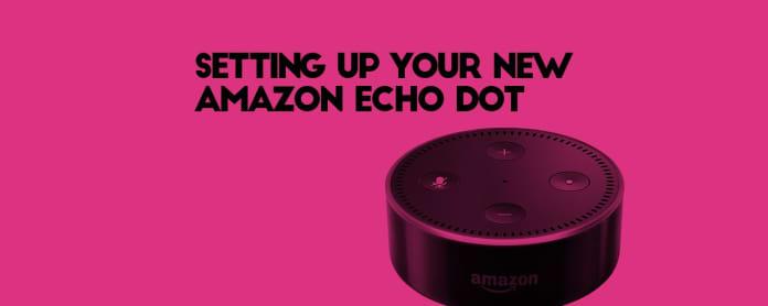 setting up the echo dot