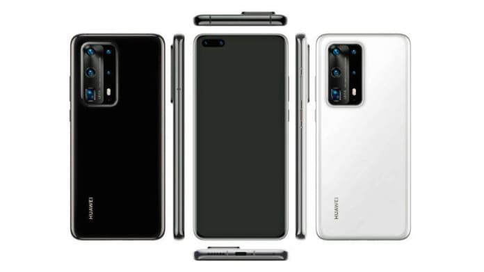 Huawei P40 Leaked